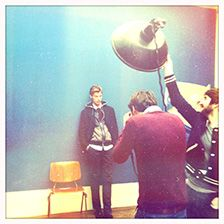 Behind the scenes: the shooting of FW13 men's collection