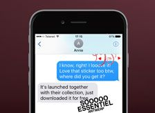 OUR FREE iMESSAGE STICKER PACK
