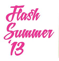 Flash Summer '13 events