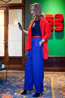 Outfit: colour code: cobalt meets coral