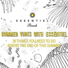 Your summer checklist