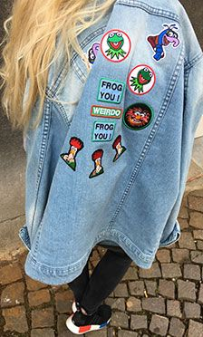 The Muppets patches