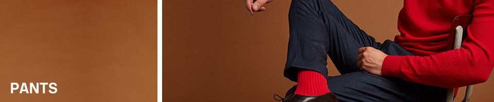Pants & shorts Winter 2017 - Menswear Essentiel Antwerp
