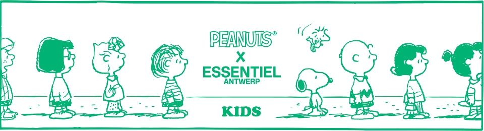 Peanuts Kids 2018 collection - Essentiel Antwerp