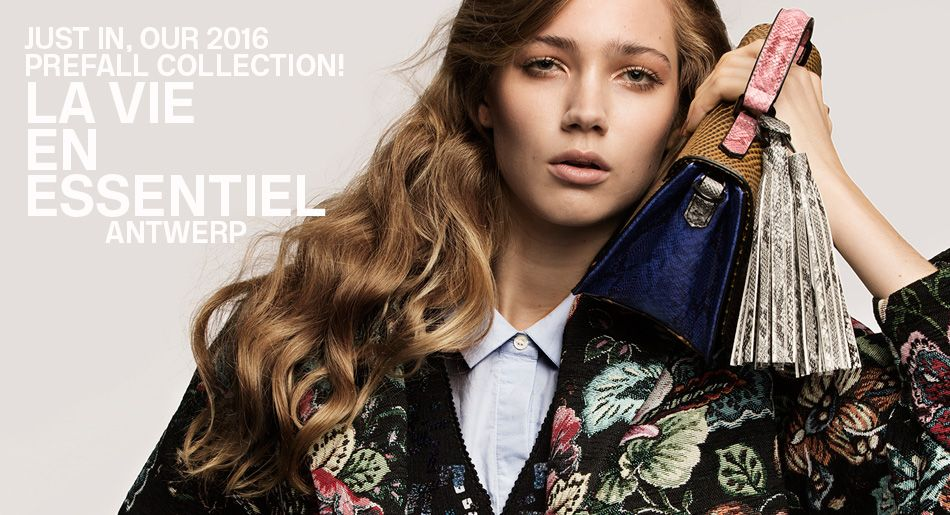 Pre fall 2016 Collection - Essentiel Antwerp