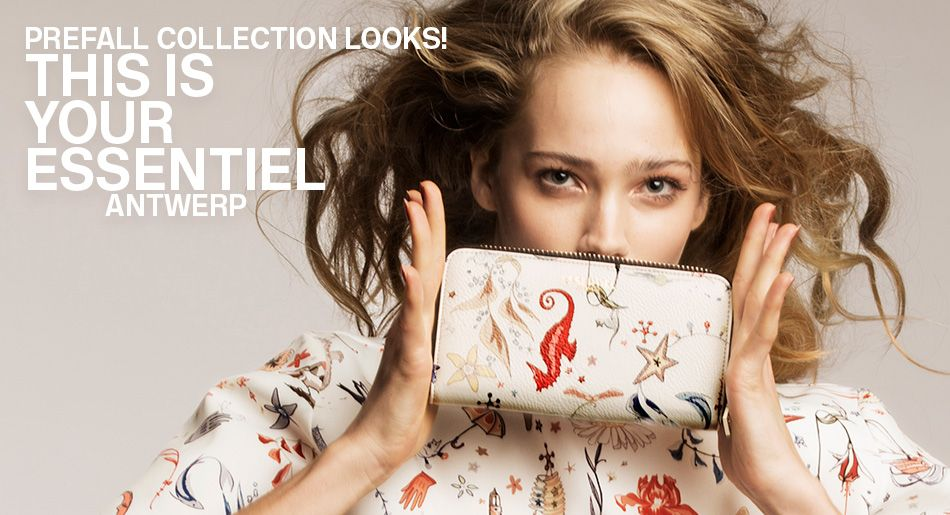 Pre fall 2016 Trends - Essentiel Antwerp