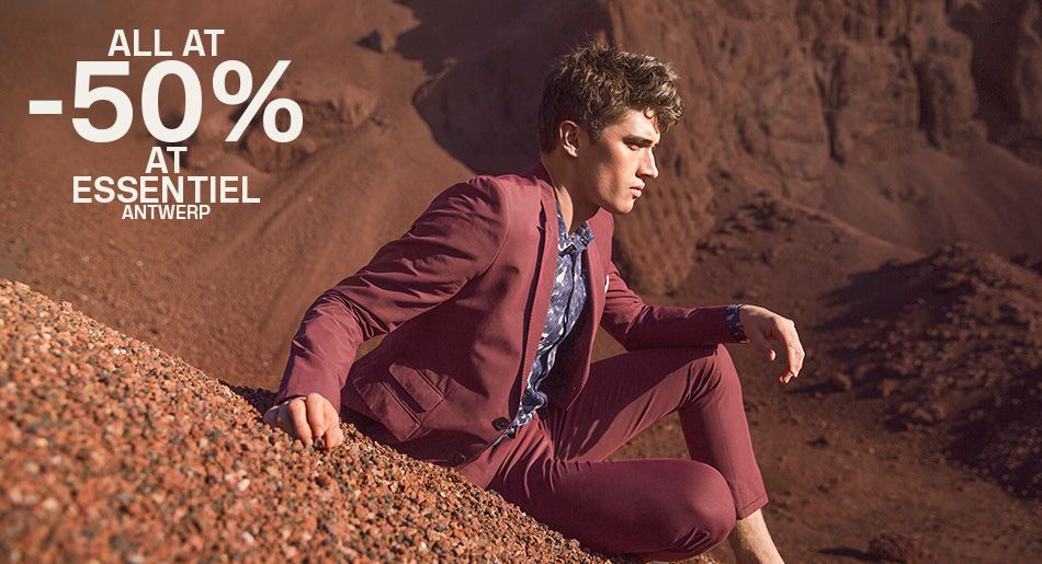 Start Sales All at -50%- Essentiel Antwerp