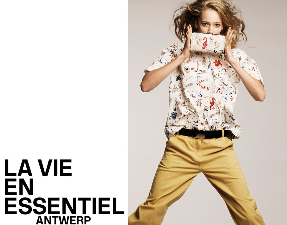 Pre fall 2016 CAMPAIGN | Essentiel Antwerp