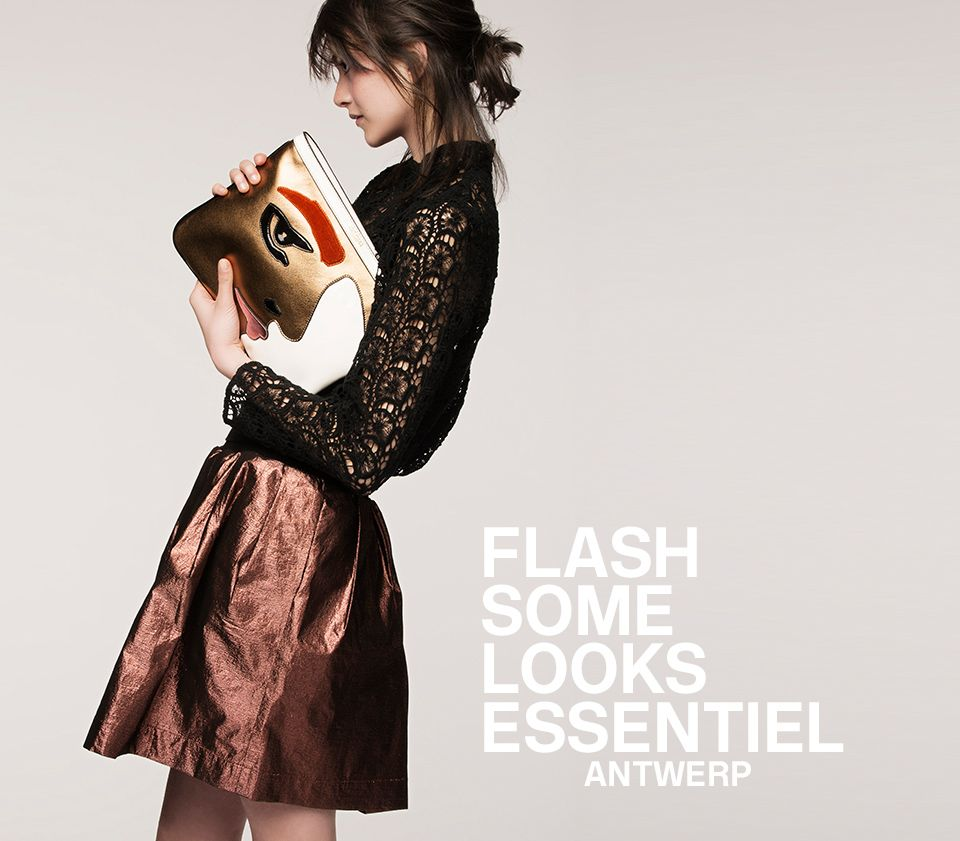 FW16 FLASH WOMEN LOOKBOOK - cover | Essentiel Antwerp