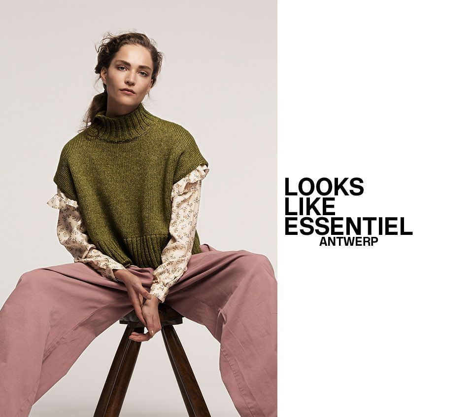 FW16 WOMEN LOOKBOOK - cover | Essentiel Antwerp