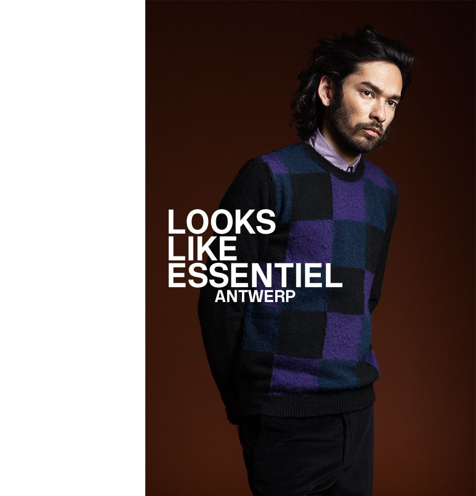 FW16 MEN LOOKBOOK - cover | Essentiel Antwerp