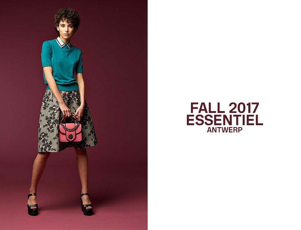 2017 FALL WOMEN LOOKBOOK - cover | Essentiel Antwerp