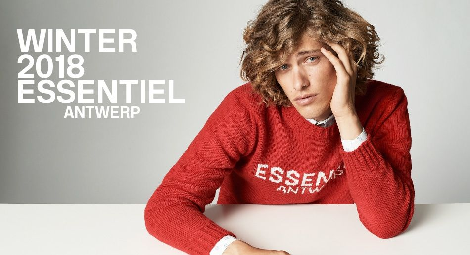 Winter 2018 Men's collection - Essentiel Antwerp