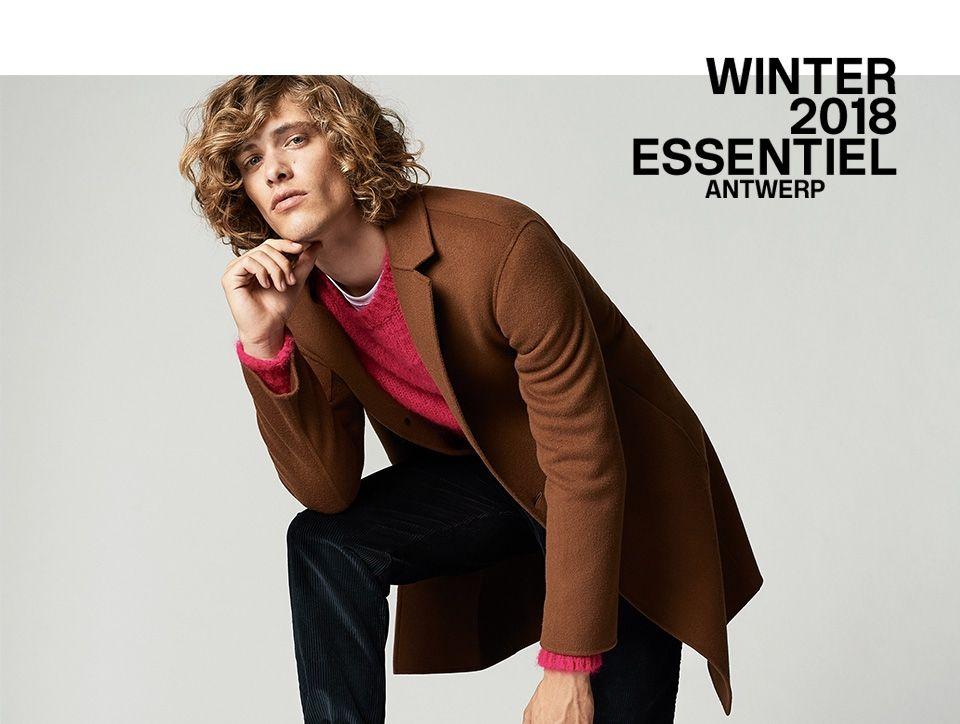 Winter 2018 men's Collection - Look1 | Essentiel Antwerp