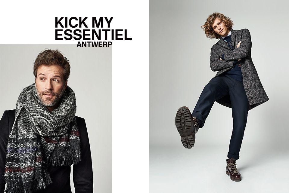 Winter 2018 men's Collection - look4 | Essentiel Antwerp