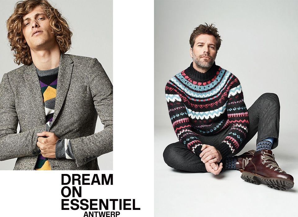 Winter 2018 men's Collection - look10 | Essentiel Antwerp