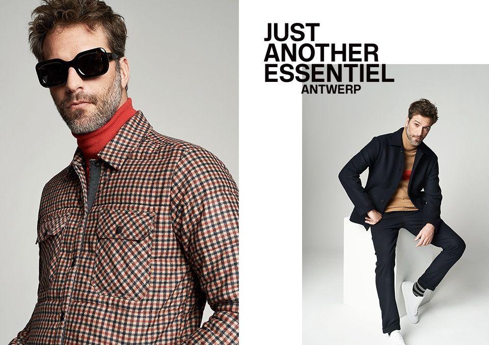 Winter 2018 men's Collection - look12 | Essentiel Antwerp