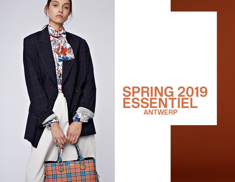 SPRING 2019 WOMEN COLLECTION- look 1 | Essentiel Antwerp