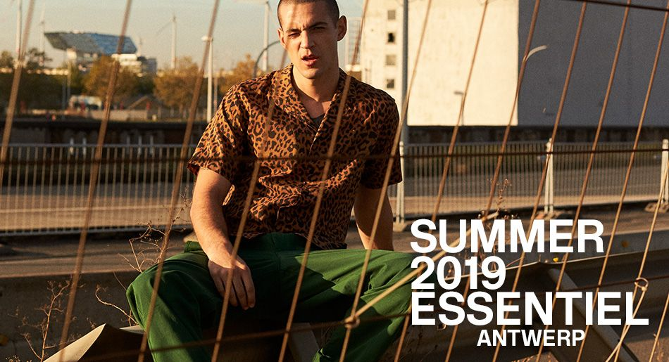 Summer 2019 Men's collection - Essentiel Antwerp