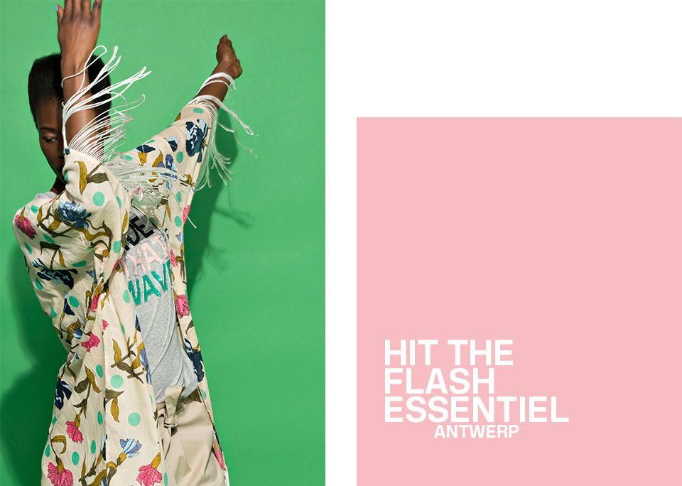 Flash Summer 2017 Women's Collection - cover | Essentiel Antwerp