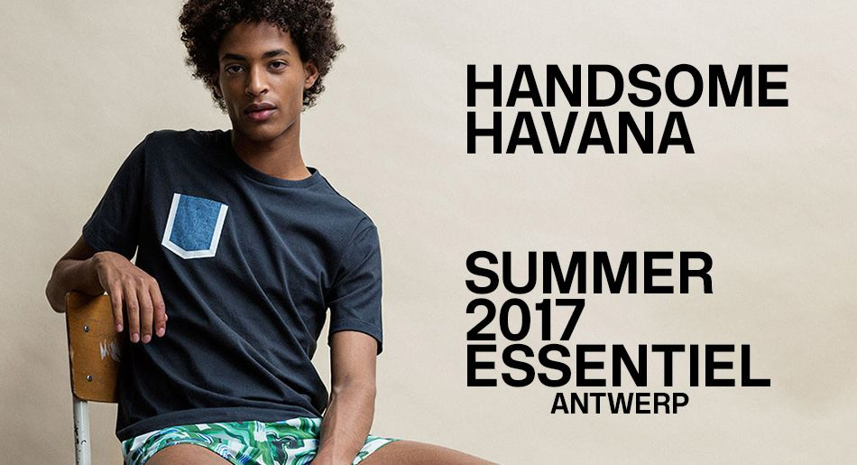 SUMMER 2017 MEN LOOKBOOK - look 1| Essentiel Antwerp