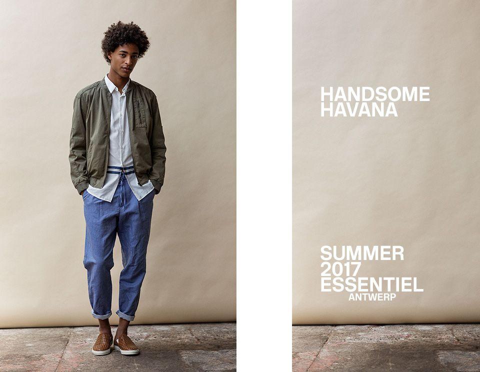 SUMMER 2017 MEN LOOKBOOK - look 2| Essentiel Antwerp