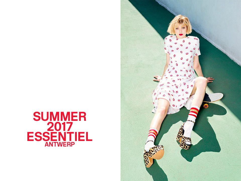 Summer 2017 CAMPAIGN - cover | Essentiel Antwerp